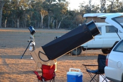 Bert Denovan - Kent's 20 inch scope 01032003